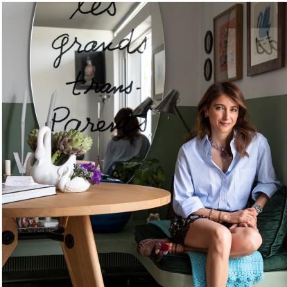 H αρχιτέκτονας Βάνα Κριμνιώτη μας ξεναγεί στο προσωπικό της ησυχαστήριο, στο διαμέρισμά της στο Ψυχικό