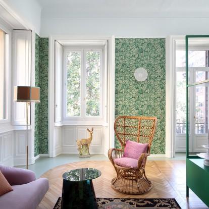 Ένα διαμέρισμα στο Μιλάνο ανακαλεί μνήμες από το παρελθόν
