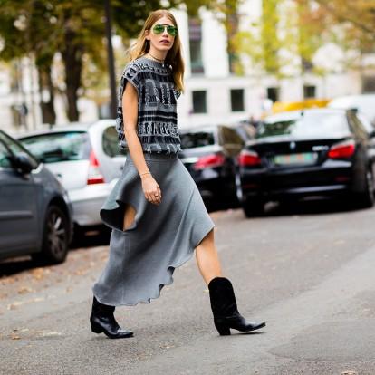 Οι cowboy boots είναι και πάλι της μόδας