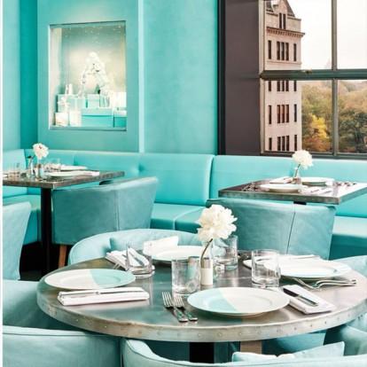 Δοκιμάστε το δικό σας Breakfast in Tiffany's στο ολοκαίνουριο Blue Box Café