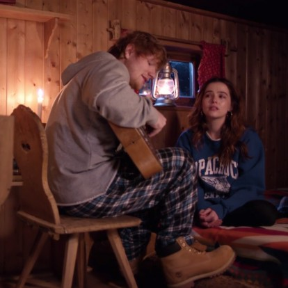 Ο Ed Sheeran δημιουργεί το πιο Perfect χειμωνιάτικο σκηνικό
