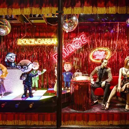 Οι D&G μεταφέρουν το ιταλικό Christmas spirit στο Harrods