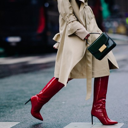These Red Boots are made for walking