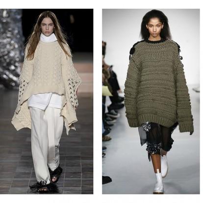 Οι FW 2017 πασαρέλες υποκλιθήκαν στo knitwear