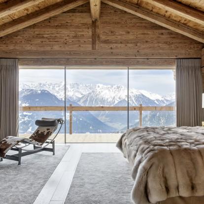 Πολυτέλεια και high end αισθητική στo Love Counts chalet στις ελβετικές Άλπεις