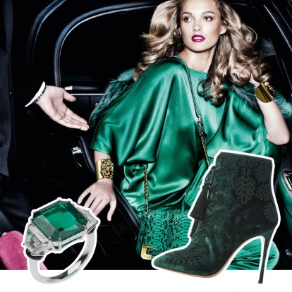 Holiday Gift Guide: Luxurious Green