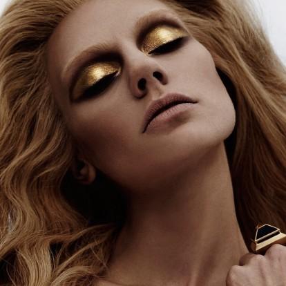 Metallics: Η πιο αστραφτερή πρόταση για το μακιγιάζ των γιορτών