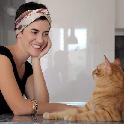 Η Έλενα Ζουρνατζή μας μιλά για τα μεταξένια κομψοτεχνήματά της